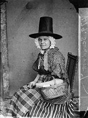 A woman in national dress (Scandrett)
