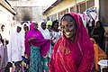 A young girl pictured with her friends, Nigeria (38758526845).jpg