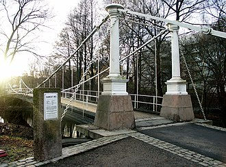 Næs jernverk -  Åmotbrua is a cast-iron bridge built by Næs Jernverk