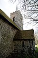 Abbess Roding - St Edmund's Church - Essex England - vestry and tower at north.jpg