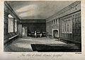 Abbott's Hospital, Guildford, Surrey; the hall interior. Etc Wellcome V0012720.jpg