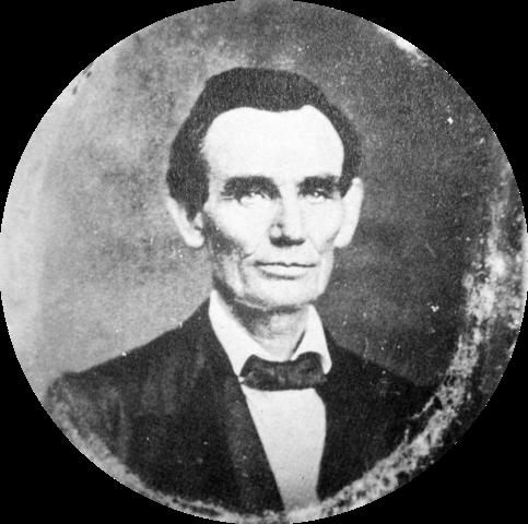 Авраам Линкольн в 1857 году