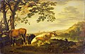 Abraham van Calraet - Cattle on a River Bank WLC WLC P180.jpg