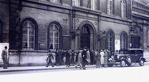 Académie Royale des Beaux-Arts - Académie Royale des Beaux-Arts, Brussels, 1935 (photo Léon van Dievoet)