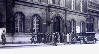 Académie Royale des Beaux-Arts art school in Brussels, Belgium