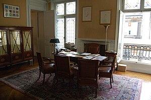Français : Cabinet du Secrétaire Perpétuel de ...