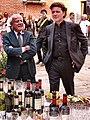 Achille Bonito Oliva and Paolo De Grandis.jpg