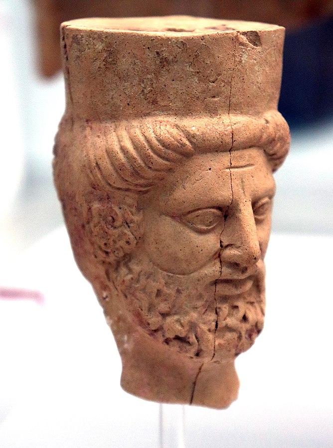 Testa di Ade e Persefone, da Locri - MArRC