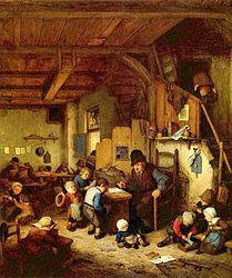 Adriaen van Ostade: The Schoolmaster