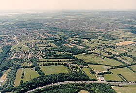 Aerial view of Thundersley Plotlands from the north-west - geograph.org.uk - 1558354.jpg