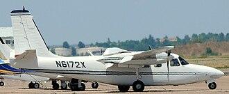 Aero Commander 500 family - Aero Commander 500-B at Colorado Springs Airport