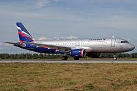 VP-BZO - A320 - Aeroflot