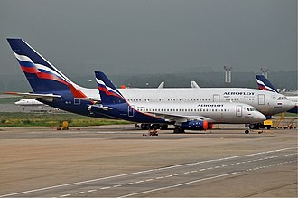 United Aircraft Corporation - Ilyushin Il-96 and Sukhoi Superjet 100 of Aeroflot