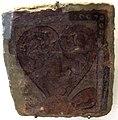 Afghanistan, palmette, da bamiyan, grotta D, VI-VII sec. 03.JPG