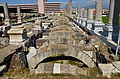 Agora of Smyrna, built during the Hellenistic era at the base of Pagos Hill and totally rebuilt under Marcus Aurelius after the destructive 178 AD earthquake, Izmir, Turkey (18079308333).jpg