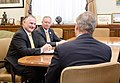 Agriculture Secretary Tom Vilsack (center) meets with the National Corn Growers Association President Fred Yoder (left), at the U.S. Department of Agriculture in Washington, DC, Thursday, April 11, 2013.jpg