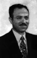 Ahmad al-Khatib, the interim head of state who ruled Syria for four months from November 1970 to March 1971.png