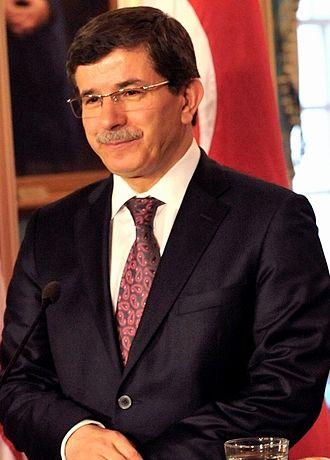 Third Davutoğlu Cabinet - Image: Ahmet Davutoglu cropped