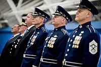 Air Force command staff uniforms