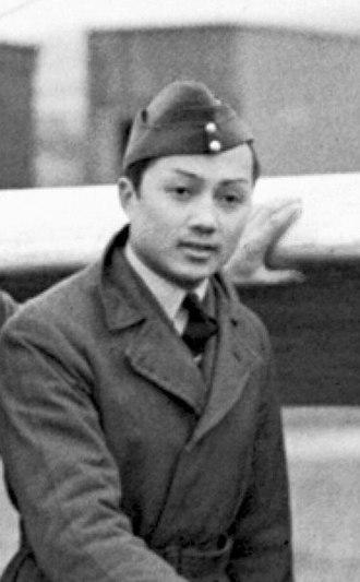 Birabongse Bhanudej - Birabongse in 1944