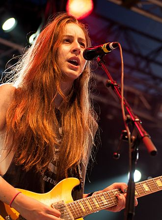 Haim (band) - Alana Haim at Way Out West 2013 in Gothenburg, Sweden