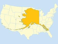 Karta Usa Sjoar.Alaska Wikipedia