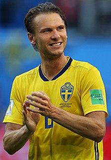 Albin Ekdal Swedish footballer