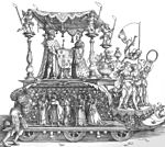 Albrecht Dürer - The Small Triumphal Car or the Burgundian Marriage - WGA7198.jpg