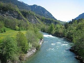 Albula (river) river in Switzerland