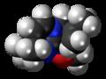 Alchorneine molecule spacefill.png