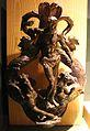 Alessandro vittoria e bottega, picchiotto (battente) con nettuno e cavalli marini, 1550-1600 ca.jpg