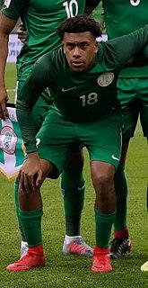 Alex Iwobi Nigerian association football player
