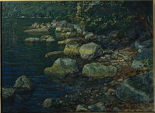 Water and Stones near Palazzuola