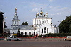Александро-Невская соборная церковь Ртищевского благочиния