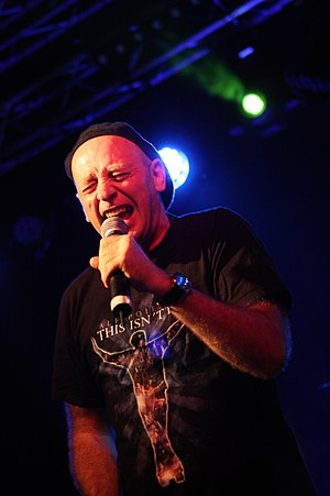 Alf Poier - Alf Poier performing at the Picture On Festival 2012 in Bildein, Austria