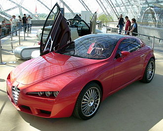 Alfa Romeo Brera and Spider - The Brera concept car