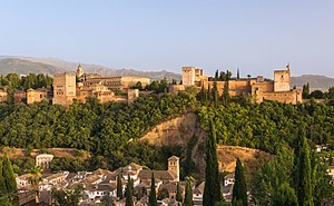 Alhambra hill over Granada Spain.jpg