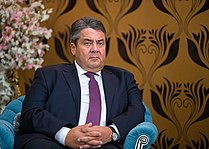 Ali Tayebnia meeting German Vice Chancellor Sigmar Gabriel in Tehran 139507121551008168833554.jpg