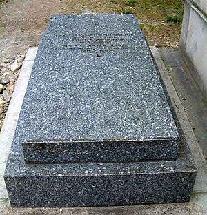 Céleste Alkan - Grave of Charles-Valentin Alkan and Céleste (Alkan) Marix, Montmartre Cemetery