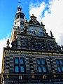 Alkmaar - Waagplein - View NW & Up on De Waag 1583 (Rebuild 1884) - (Neo-)Renaissance.jpg