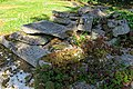All Hallows Church Tottenham London England - churchyard tomb rubble 1.jpg