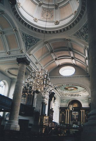 All Saints' Church, Northampton - All Saints interior