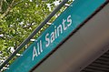 All Saints DLR station MMB 04.jpg