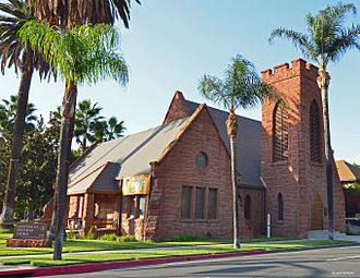 National Register of Historic Places listings in Riverside County, California - Image: All Souls Universalist Church