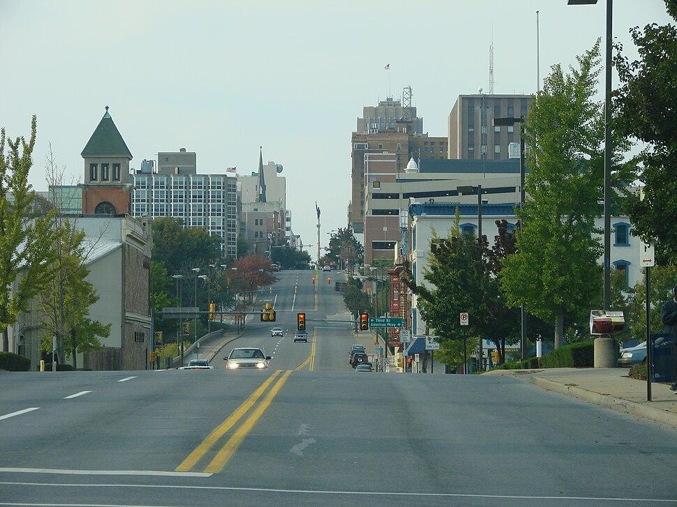 Allentown PA - Hamilton St