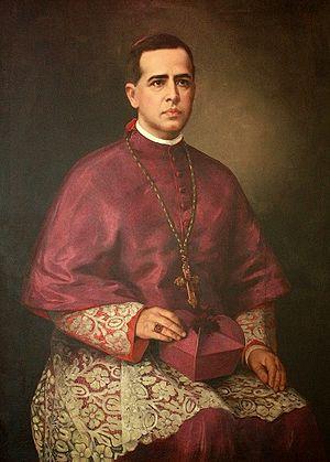 Joaquim Arcoverde de Albuquerque Cavalcanti - Cardinal Arcoverde; portrait by Almeida Júnior