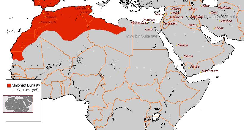 Almohad dynasty 1147 - 1269 (AD)