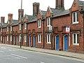 Almshouses, Dame Alice Street, Bedford - geograph.org.uk - 1383810.jpg
