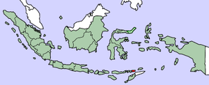 Alor Archipelago - Location of Alor archipelago