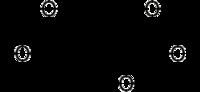 Strukturformel von 2-Hydroxyglutarat